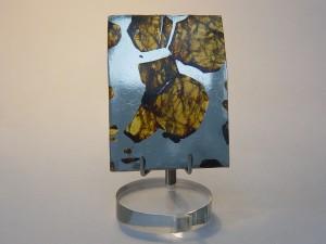 Slice of Pallasite Meteorite (Olivine)