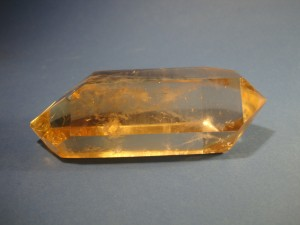 Double Terminated Citrine Crystal
