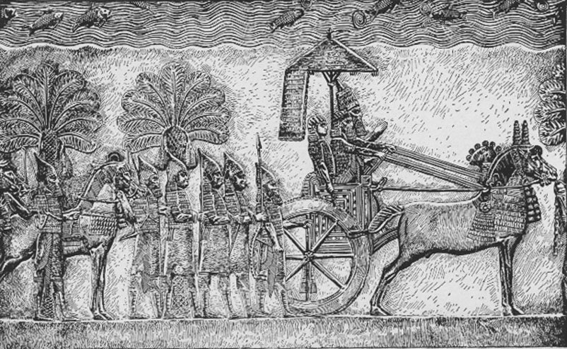 King Sennacherib of Assyria