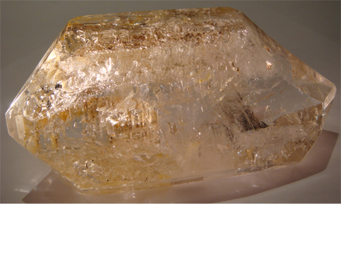 Hydro-Thermal Double Terminated Quartz Crystal