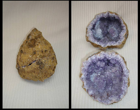 Whole Amethyst Geode