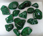 Malachite Pieces small