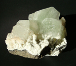Apophyllite - large green
